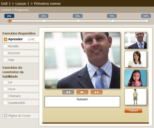 Interface de Aprendizagem